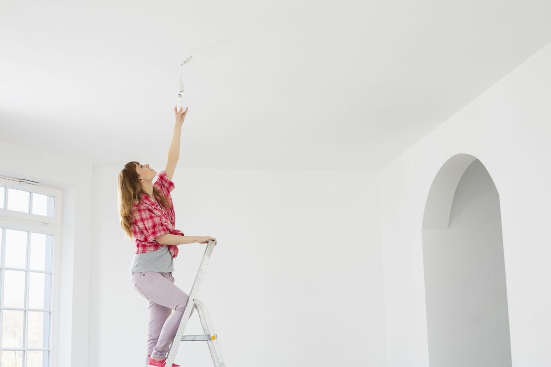 Popcorn Ceiling Removal in Marietta, Georgia